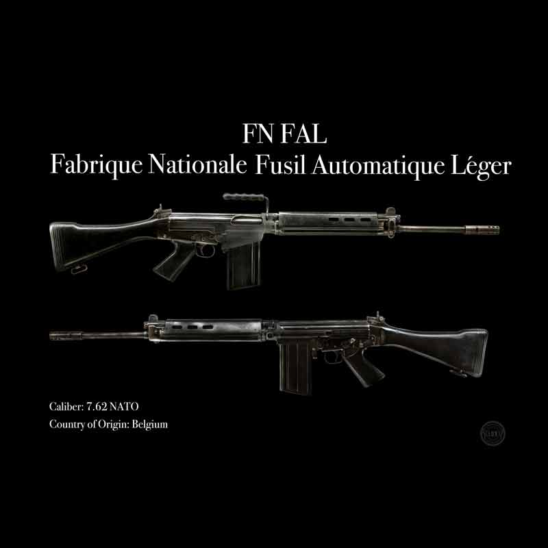 FN FAL poster scaled 800x800