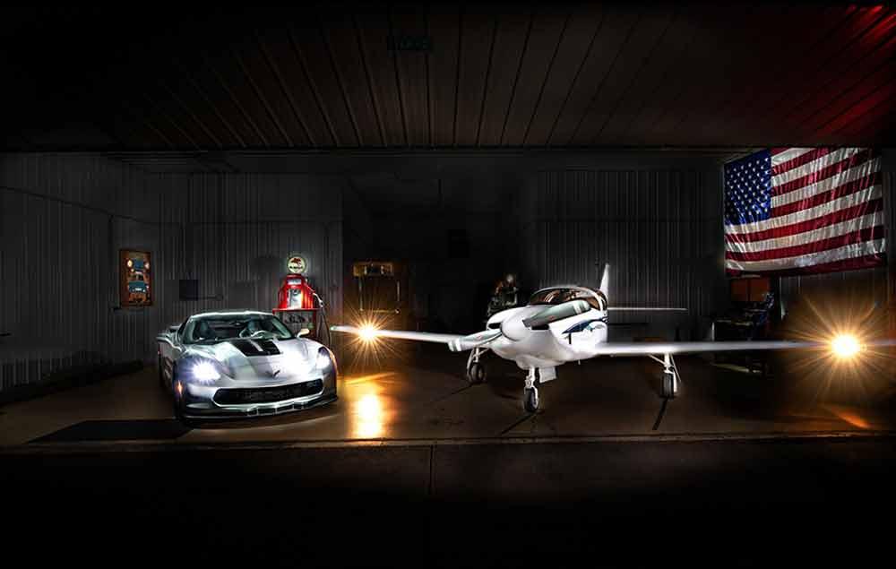 Plane Corvette Hanger Wen WEB